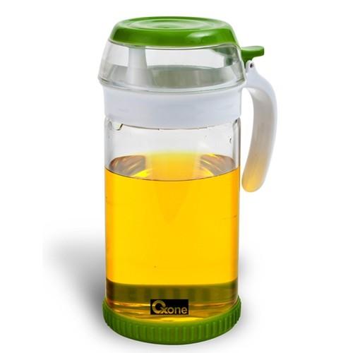 OXONE Ripples Oil & Vinegar Jar [OX-047] - Green - Toples